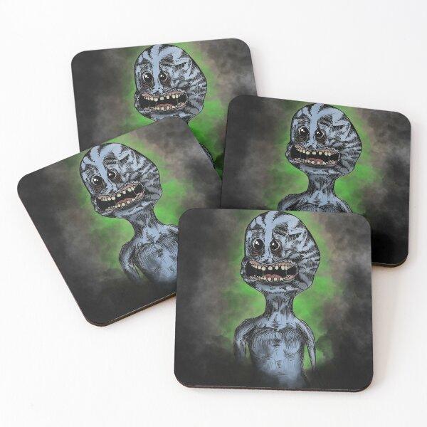 I'm Mr. Meeseeks!  Look at me! Coasters (Set of 4)
