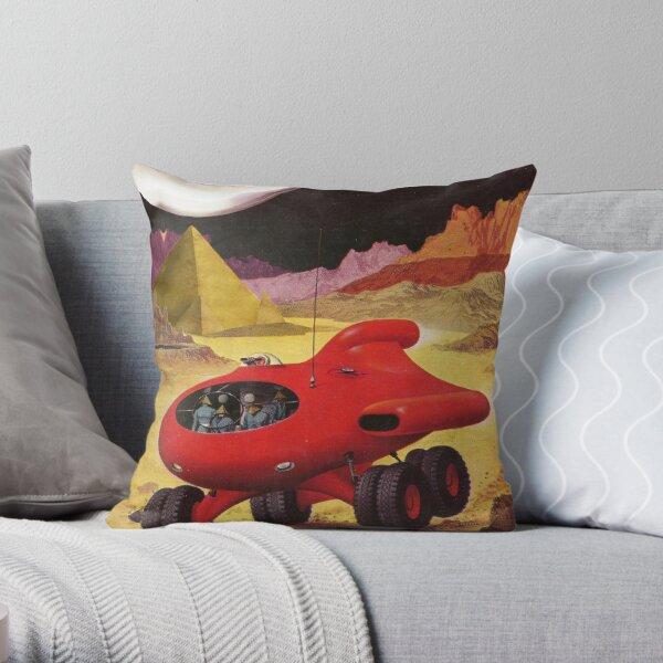 ORG Moon Base Throw Pillow