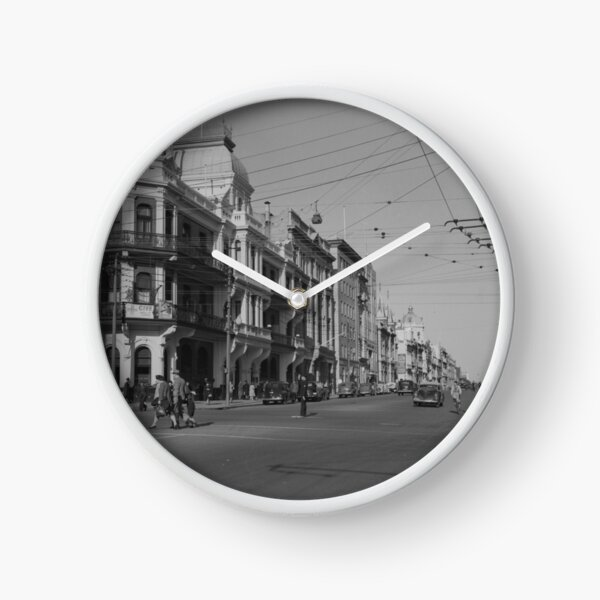 St George's Terrace, Perth, 1941, State Library of Western Australia Clock