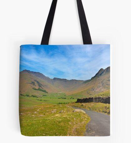 Mickleden Valley Road Tote Bag