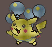 Pika Balloon - Pixel