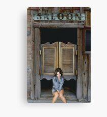 Katey's Saloon Canvas Print