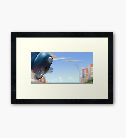 Go for a Ride  Framed Print