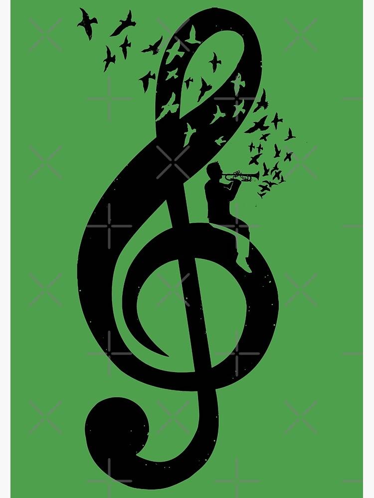 Treble Clef - Trumpet by barmalisiRTB