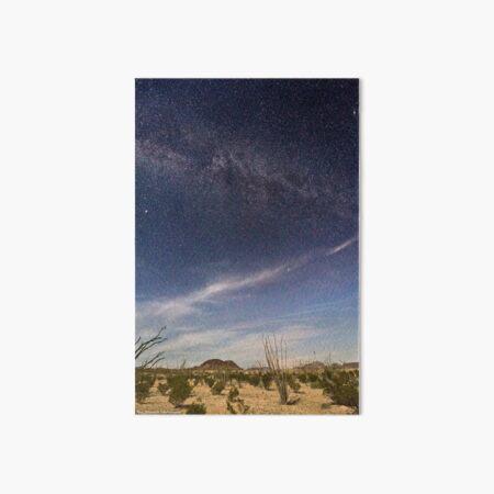 Terlingua, Texas Night Landscape Art Board Print