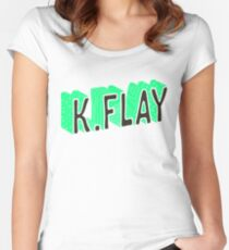 K.Flay Women's Fitted Scoop T-Shirt