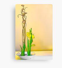Abstract Ikebana Canvas Print