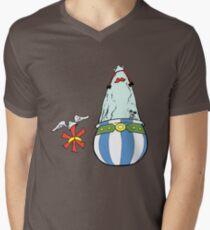 Asterisk & Obelisk Mens V-Neck T-Shirt