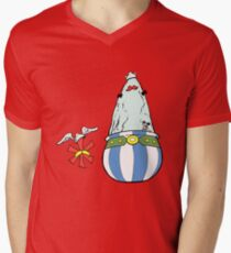 Asterisk & Obelisk Men's V-Neck T-Shirt