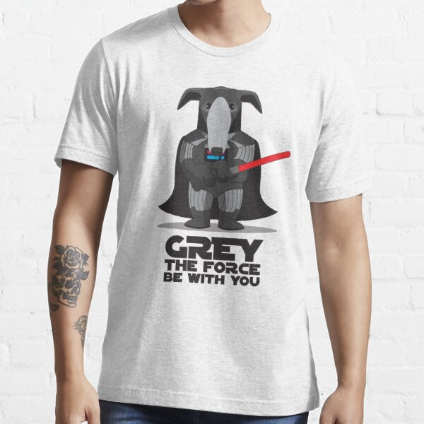 Grey The Force Essential T-Shirt