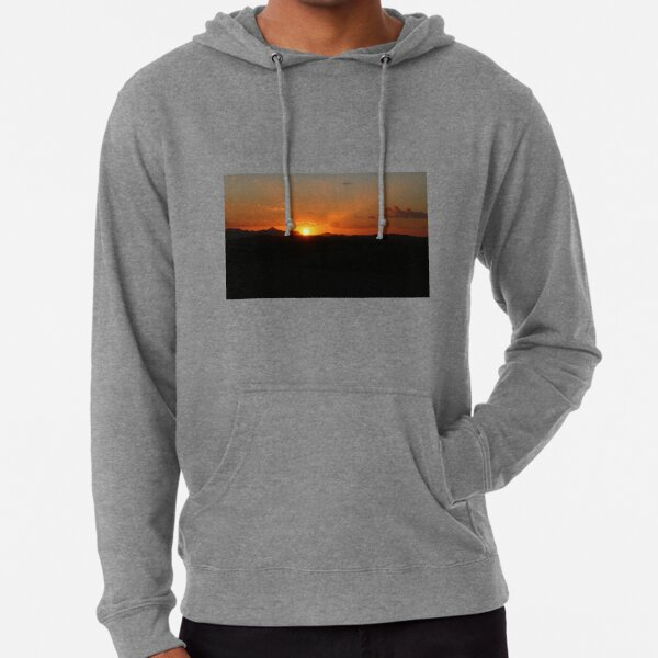 Flinders Ranges Sunset Lightweight Hoodie