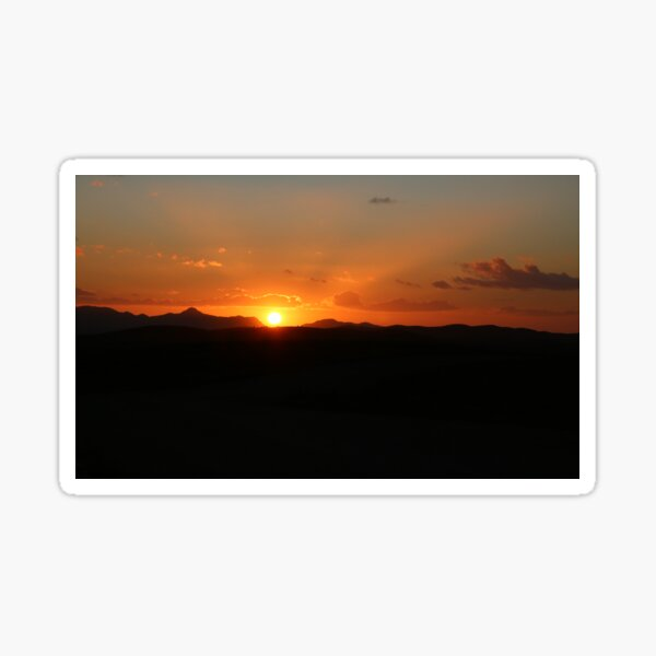 Flinders Ranges Sunset Sticker