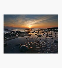 Llantwit Major Beach Photographic Print