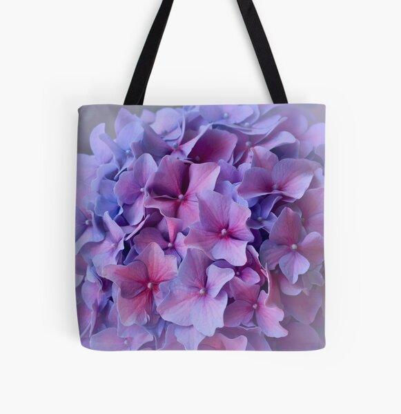 Hydrangea dreams All Over Print Tote Bag