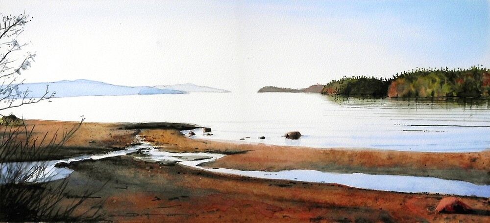 Early Light at Rossport by Douglas Hunt