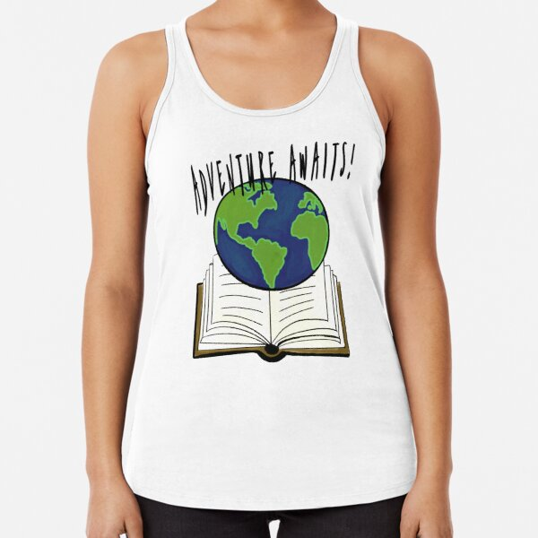 Adventure Awaits Racerback Tank Top