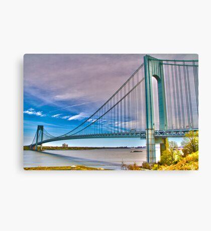 Verrazano Bridge HDR1 Canvas Print