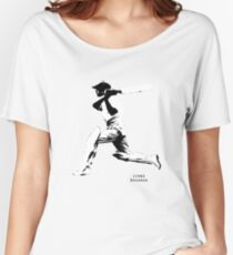 Iconic Stars Don Bradman Women's Relaxed Fit T-Shirt