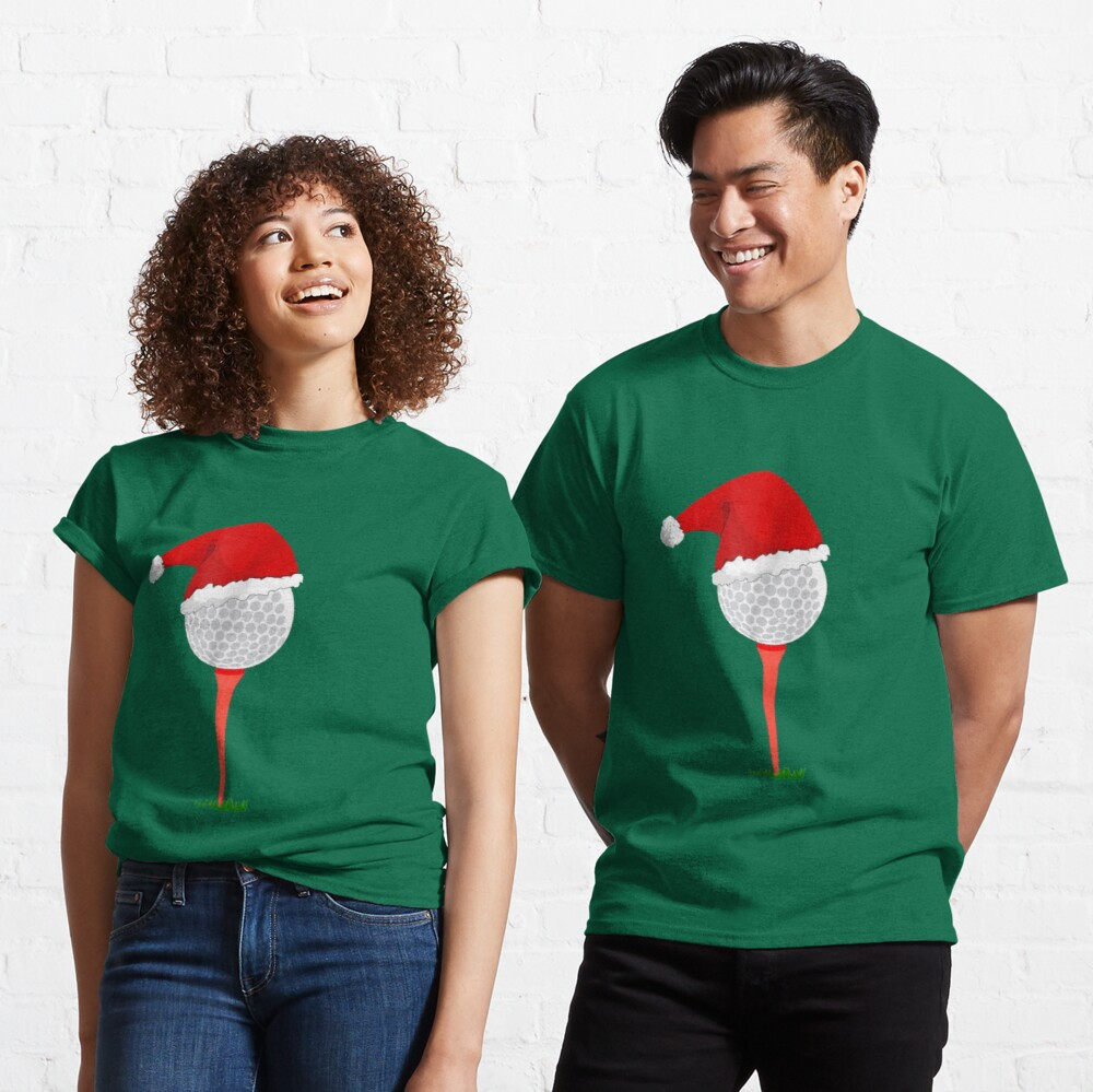 Christmas Golf - Holiday Hole in One Classic T-Shirt