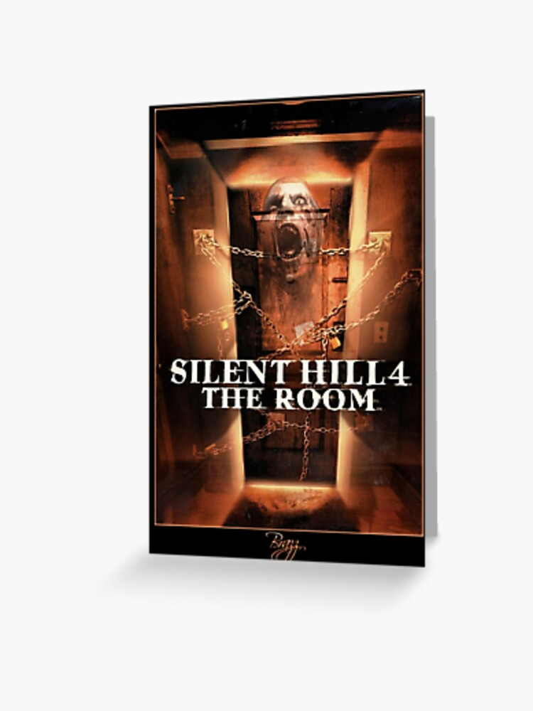 Silent Hill 4 The Room Ps2 Box Art Cover Orignial Greeting
