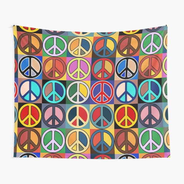 Peace Mosaic Tapestry