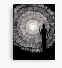 148 - JOURNEY INTO LIGHT - DAVE EDWARDS - 1988 - PEN & INK Canvas Print