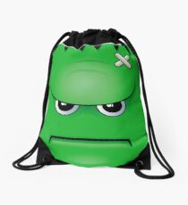 Frank - Halloween, Horror, Cute Drawstring Bag