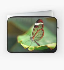 On the Edge Glasswing - Greta oto Laptop Sleeve