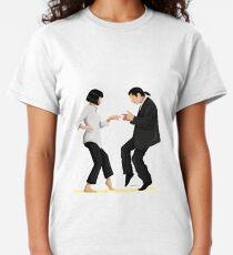 Pulp Fiction Twist Dance | Pop Culture Art Classic T-Shirt