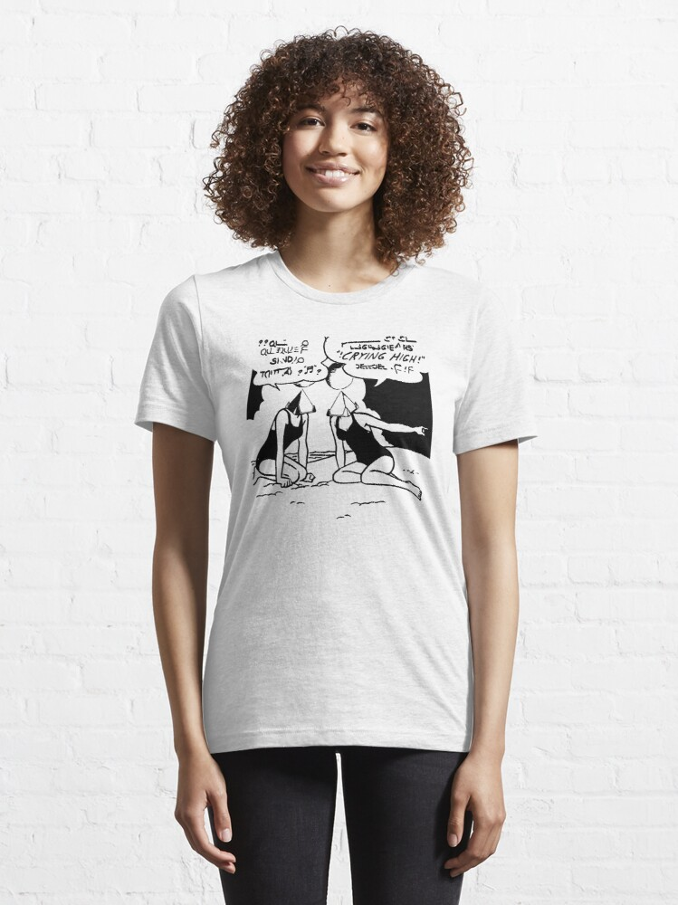 Alternate view of Crying High Beach Party Essential T-Shirt