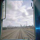 All Aboard the Holga Train  by laruecherie