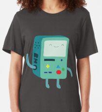 Minimalistic BMO | Adventure Time Slim Fit T-Shirt
