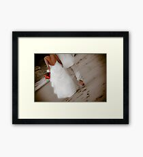 Bride and Groom  - San Pancho Framed Print