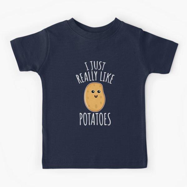 I Just Really Like Potatoes - Funny Potato gift Kids T-Shirt