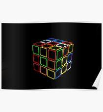 Rubix Cube Poster