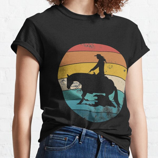 Sliding stop Western riding Reining gift Classic T-Shirt