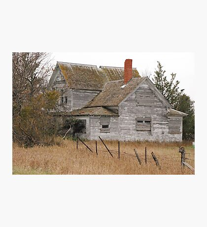 Deserted House Photographic Print