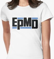 EPMD big logo Womens Fitted T-Shirt
