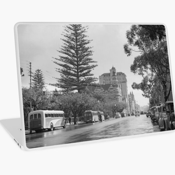St George's Terrace, Perth, July 1939, State Library of Western Australia Laptop Skin