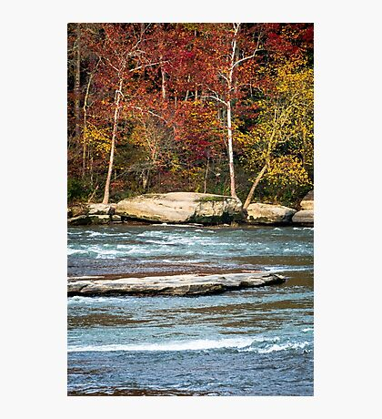 Autumn on the Cumberland River Photographic Print