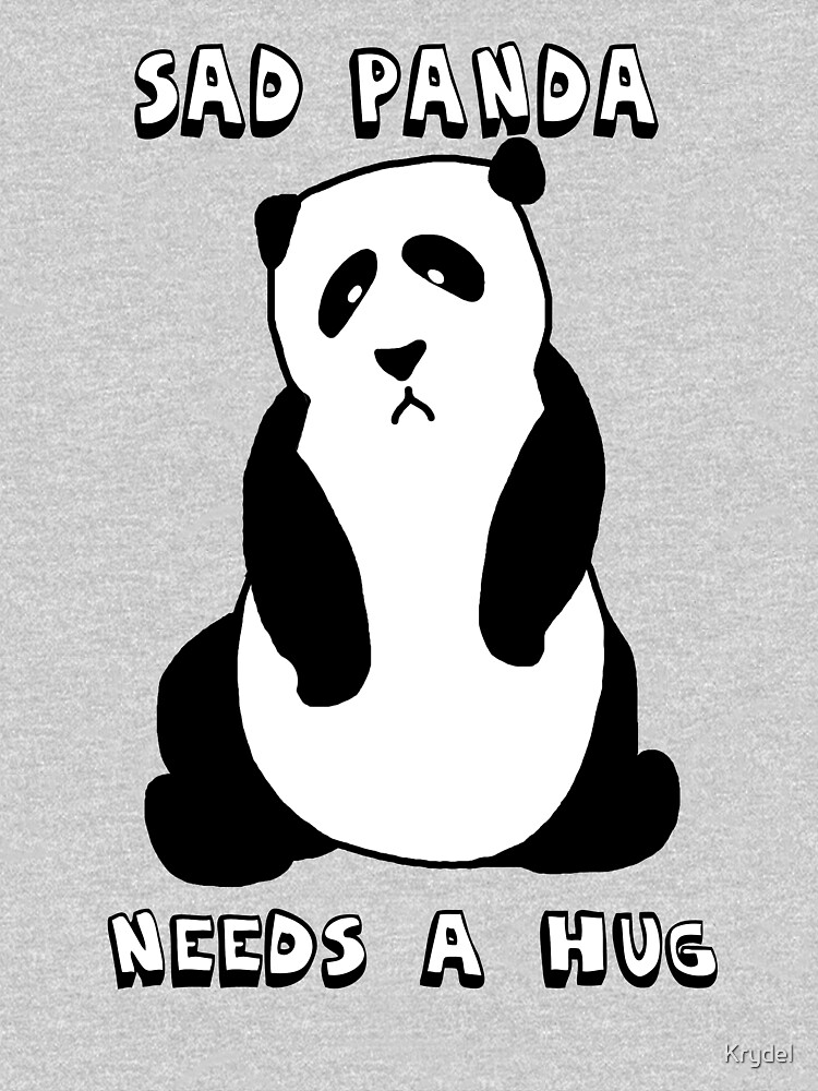 Sad Panda Needs A Hug | Unisex T-Shirt
