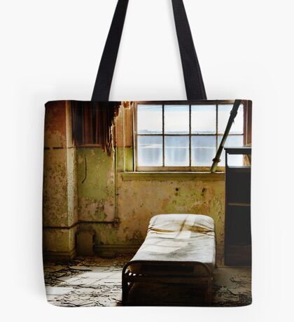 Room at the Baker Hotel Tote Bag