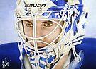 Jonas Gustavsson (Toronto Maple Leafs) by Graham Beatty