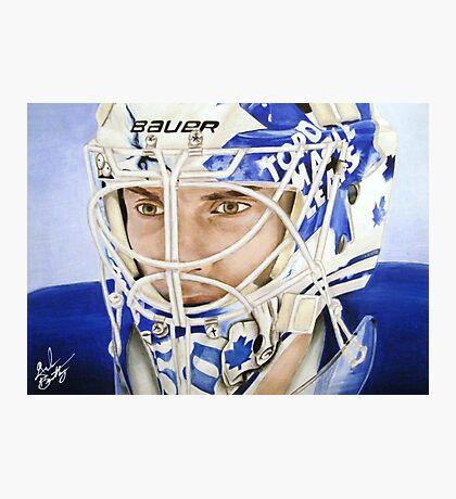 Jonas Gustavsson (Toronto Maple Leafs) Photographic Print