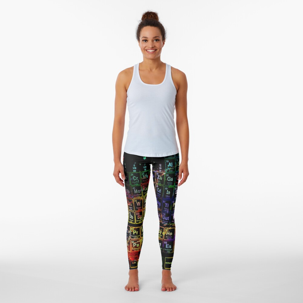 Periodic Table of the Elements Leggings
