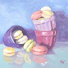 Petits Macarons by Rodica Voicu