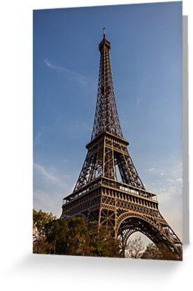 Eiffel Tower (Paris) by Mathieu Longvert