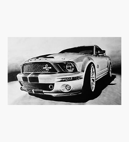 Shelby Mustang GT-500 KR Photographic Print