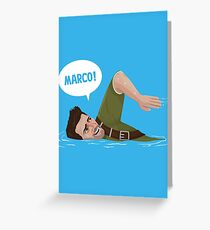 Marco Polo (Nathan Drake from Uncharted) Greeting Card