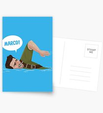 Marco Polo (Nathan Drake from Uncharted) Postcards